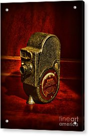 Camera - Bell And Howell Film Camera Acrylic Print by Paul Ward