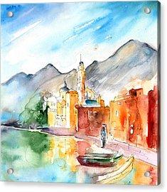 Camogli In Italy 11 Acrylic Print by Miki De Goodaboom