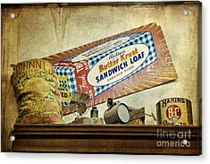 Camp Verde Texas General Store Acrylic Print by Priscilla Burgers
