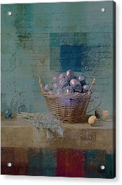 Campagnard - Rustic Still Life - J085079161f Acrylic Print by Variance Collections