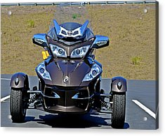 Can-am Spyder - The Spyder Five Acrylic Print by Christine Till