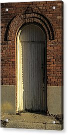 Can I Come In  Acrylic Print by Steven  Taylor