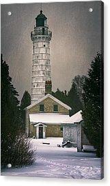 Cana Island Light II Acrylic Print by Joan Carroll