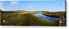 Canal Acrylic Print by Riley Handforth