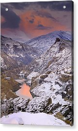 Canales Acrylic Print by Guido Montanes Castillo