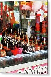 Candy Apples Acrylic Print by Susan Savad
