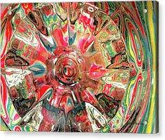 Candy Acrylic Print by Donna Blackhall