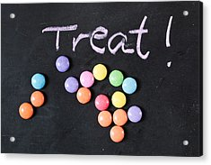 Candy Treat Acrylic Print by Tom Gowanlock
