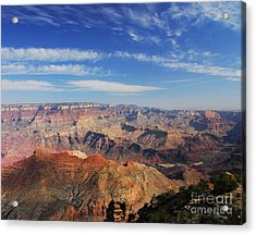 Canyon Colors 1 Acrylic Print by Mel Steinhauer
