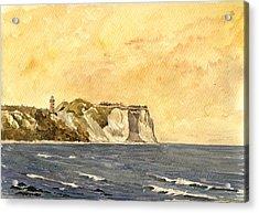 Cape Arkona Germany Acrylic Print by Juan  Bosco