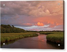 Cape Cod Summer Storm Acrylic Print by Juergen Roth