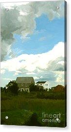Cape House Acrylic Print by Paul Tagliamonte