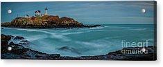 Cape Neddick Lighthouse Acrylic Print by Abe Pacana