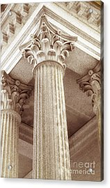 Capital Of The Column Acrylic Print by Charline Xia