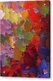 Capixart Abstract 05 Acrylic Print by Chris Axford