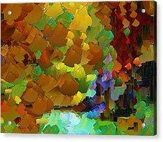 Capixart Abstract 07 Acrylic Print by Chris Axford
