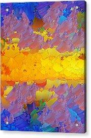 Capixart Abstract 08 Acrylic Print by Chris Axford