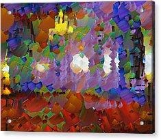 Capixart Abstract 09 Acrylic Print by Chris Axford