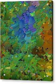 Capixart Abstract 11 Acrylic Print by Chris Axford