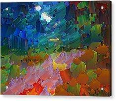 Capixart Abstract 14 Acrylic Print by Chris Axford