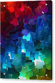 Capixart Abstract 15 Acrylic Print by Chris Axford