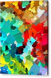 Capixart Abstract 21 Acrylic Print by Chris Axford
