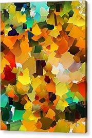 Capixart Abstract 22 Acrylic Print by Chris Axford