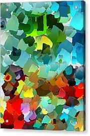 Capixart Abstract 23 Acrylic Print by Chris Axford