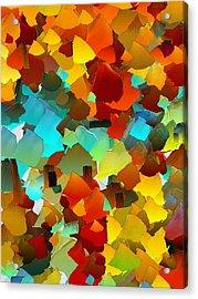 Capixart Abstract 24 Acrylic Print by Chris Axford