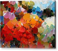 Capixart Abstract 25 Acrylic Print by Chris Axford