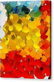 Capixart Abstract 26 Acrylic Print by Chris Axford