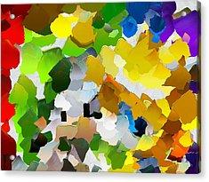 Capixart Abstract 27 Acrylic Print by Chris Axford