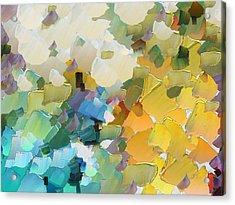 Capixart Abstract 29 Acrylic Print by Chris Axford
