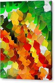 Capixart Abstract 30 Acrylic Print by Chris Axford