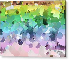 Capixart Abstract 31 Acrylic Print by Chris Axford