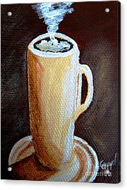 Cappuccino 3 Acrylic Print by Christine Huwer