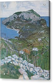 Capri, C.1904 Acrylic Print by Maurice Greiffenhagen