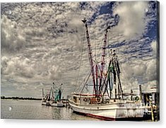 Captain Phillips Acrylic Print by Benanne Stiens