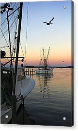 Captain Tony - In For The Night Acrylic Print by Mike McGlothlen