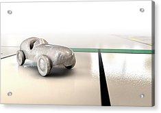 Car Monopoly Acrylic Print by Allan Swart
