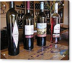 Wine Tasting  Acrylic Print by France  Art