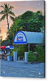 Caribbean Club Key Largo Acrylic Print by Chris Thaxter