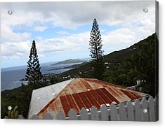 Caribbean Cruise - St Thomas - 1212193 Acrylic Print by DC Photographer