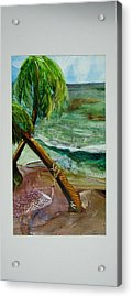 Caribbean Morning Acrylic Print by Keith Thue