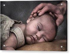 Caring Hands Acrylic Print by Gun Legler