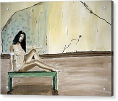 Carmen. Acrylic Print by Shlomo Zangilevitch