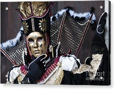Carnival In Venice 13 Acrylic Print by Design Remix
