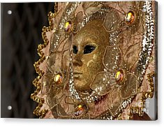 Carnival In Venice 8 Acrylic Print by Design Remix
