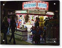 Carnival Souvenirs Acrylic Print by Jason O Watson