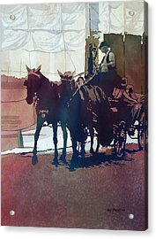 Carriage Trade Acrylic Print by Kris Parins